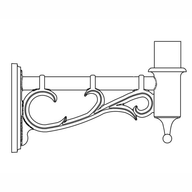 Hadco Urban Wall Mount Bracket Arms (200/500 Series) Poles and Brackets