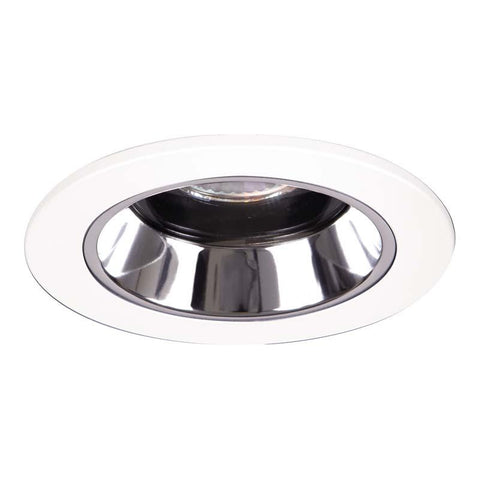 Halo 1951 LV Regressed Lensed Showerlight 4 Inch MR16-PAR16 Trims