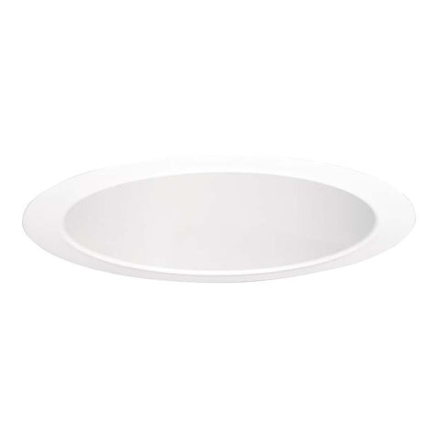 Halo 4261 Self Flange White Reflector Cone 6 Inch E26 Screwbase Trims