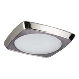 Halo 5230 Squircle Frost Glass Lens, Metal Trim 5 Inch E26 Screwbase Trims Additional Image 1