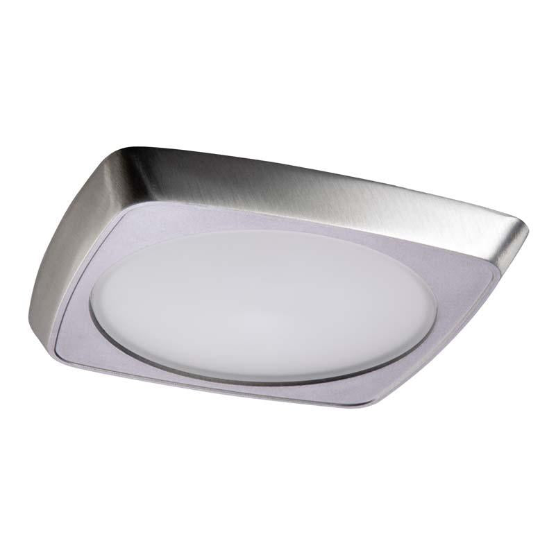Halo 5230 Squircle Frost Glass Lens, Metal Trim 5 Inch E26 Screwbase Trims