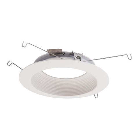 Halo 596WB 5 Inch Shallow Baffle Trim - ML56 LED