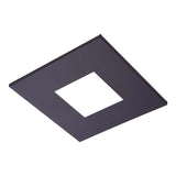 Halo TL42S 4 Inch LED Square Trim with 2 Inch Open Pinhole Aperture Additional Image 3