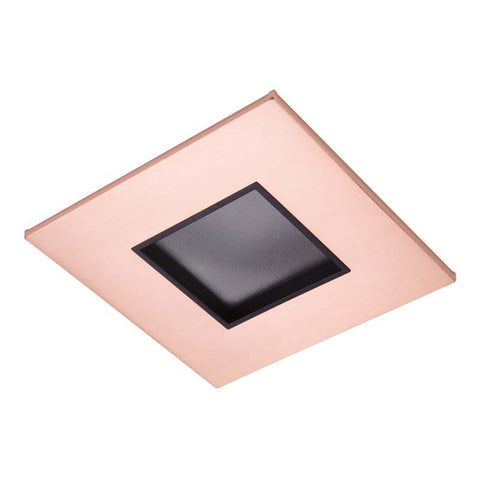 Halo TL44S 4 Inch LED Square Trim with 2 Inch Lens Pinhole Aperture