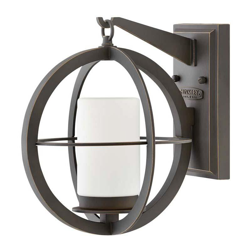 Hinkley 1010OZ Outdoor Compass Oil Rubbed Bronze Wall Lights