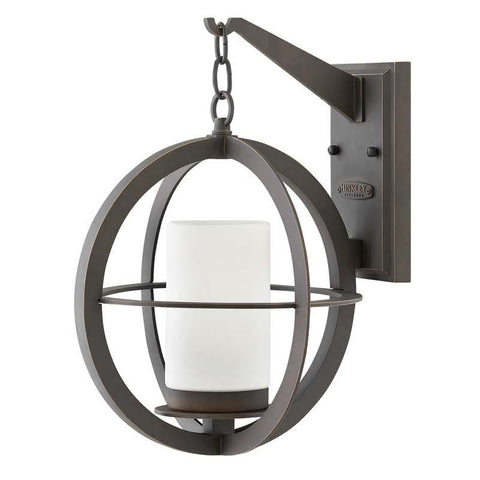 Hinkley 1014OZ Outdoor Compass Oil Rubbed Bronze Wall Lights