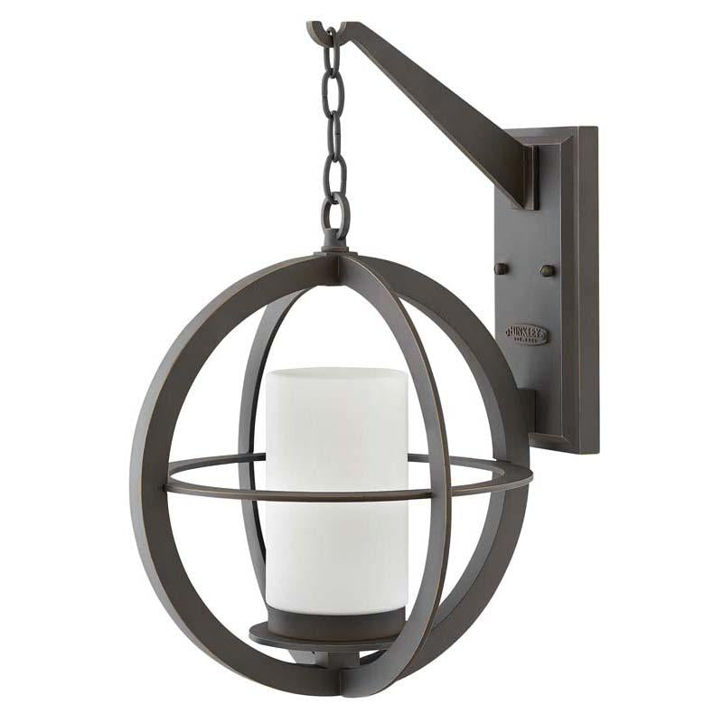 Hinkley 1015OZ Outdoor Compass Oil Rubbed Bronze Wall Lights