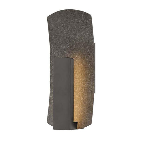 Hinkley 1100BZ Outdoor Bend Bronze Wall Lights