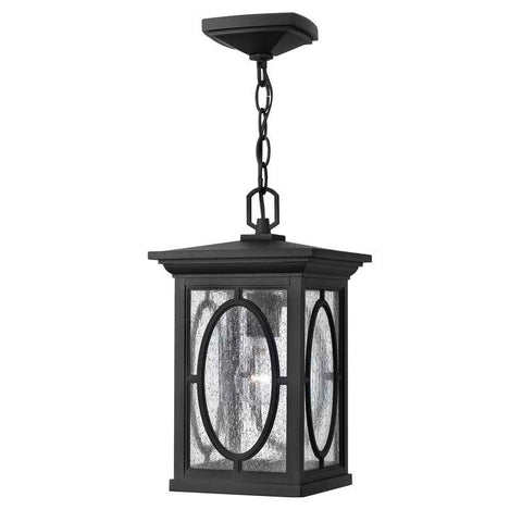 Hinkley 1492BK Outdoor Randolph Black Pendant Lights