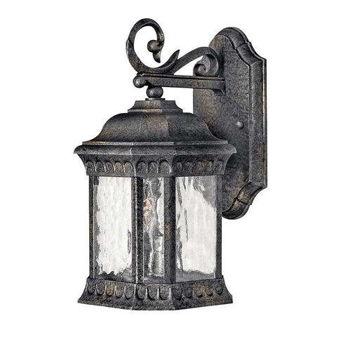 Hinkley 1720BG Outdoor Regal Black Granite Wall Lights