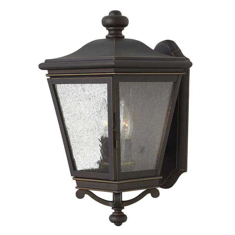 Hinkley 2464OZ Outdoor Lincoln Oil Rubbed Bronze Wall Lights