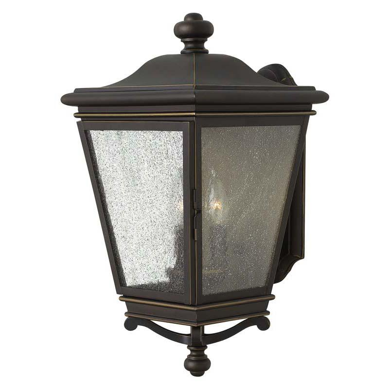 Hinkley 2465OZ Outdoor Lincoln Oil Rubbed Bronze Wall Lights