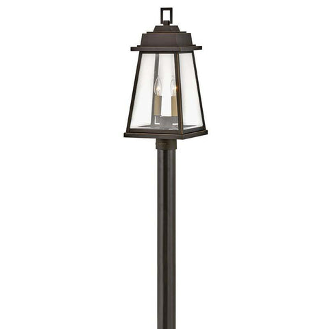 Hinkley 2941OZ Outdoor Bainbridge Oil Rubbed Bronze Post Mount Lights