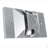 Lumiere Rectangular Wall Plate or Box Cover- Dual Mounting Holes