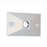 Lumiere Rectangular Wall Plate or Box Cover- Single Mounting Hole