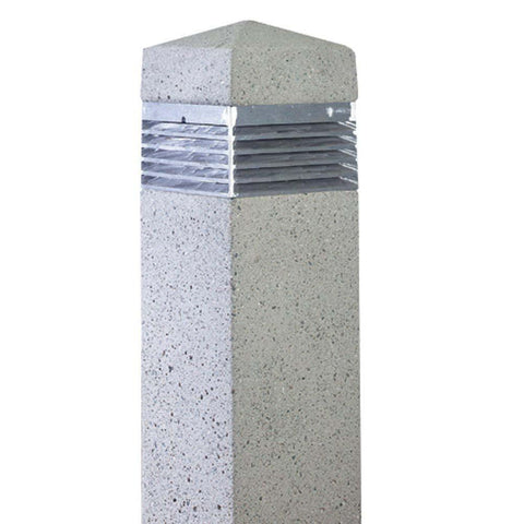SPJ Lighting SPJ-SQ12 Concrete Bollard - Seginus Lighting