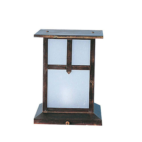 SPJ Lighting spj39-01a-12-monopoint 7 Inch Column Mount Lantern 12V