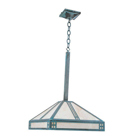 SPJ Lighting SPJ42-04B 7-1/2 Inch Pendant Mount Lantern 120V