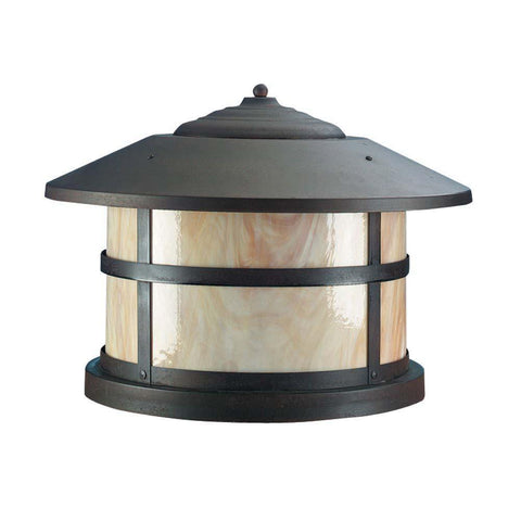 SPJ Lighting SPJ43-06B-12 20 Inch Dia Round Column Mount Lantern 12V