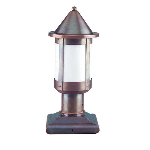 SPJ Lighting SPJ44-01C-120 18 Inch Column Mount Lantern 120V