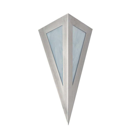 SPJ Lighting SPJ521-B Sconce 120V in White Swirl glass