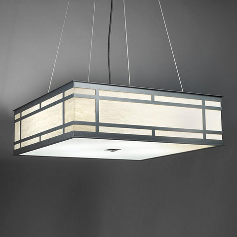 Tambour 13227-24-SM Indoor/Outdoor Stem Mount Pendant By Ultralights Lighting