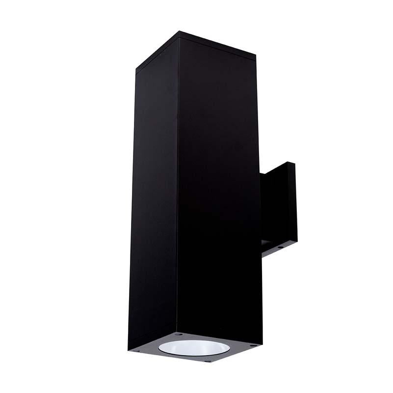 """WAC Lighting DC-WD0644 Cube Architectural 6"""" Double Wall Mount"""
