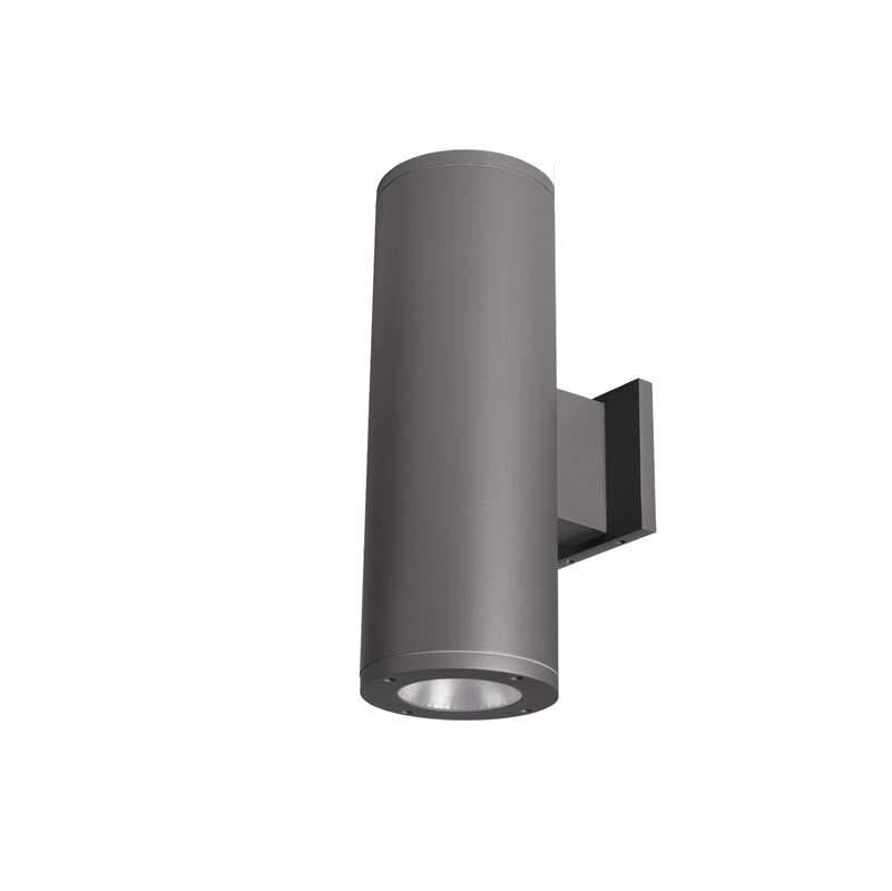 """WAC Lighting DS-WD05-S Tube Architectural 5"""" Double Wall Mount"""