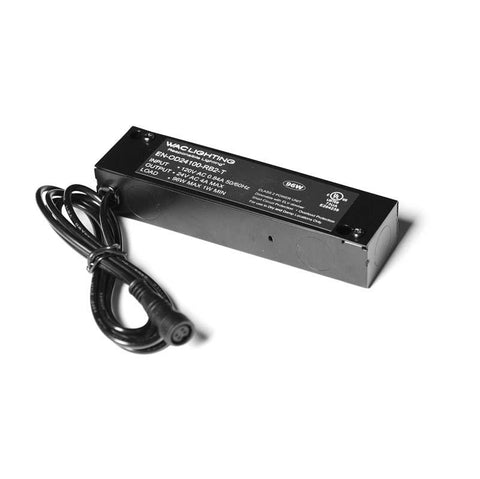 WAC Lighting EN-OD24100-RB2-T InvisiLED PRO & RGB Outdoor 96W 24V Enclosed Class 2 Electronic Transformer