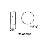 WAC Lighting FM-W578 Dot Ceiling Mount Additional Image 6