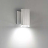 WAC Lighting WS-W6180 Block Outdoor Wall Sconce 3000K Additional Image 1