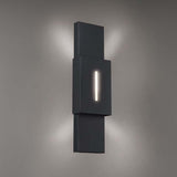WAC Lighting WS-W669 Passage Outdoor Wall Sconce 3000K Additional Image 2