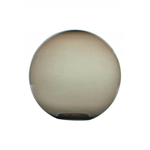 "Wave Lighting 1458 14"" Smoke Outdoor Globe with 5.25"" Opening"