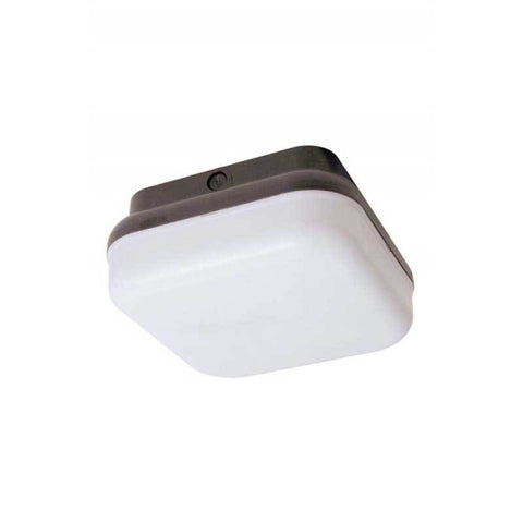 Wave Lighting 164FM-L22-WH-O Guardian Square Outdoor Wall/Ceiling Mount with Occupancy Sensor