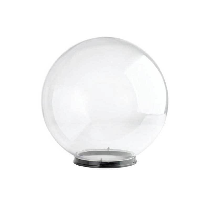 """Wave Lighting 1856-8N 18"""" Clear Globe with 8"""" Fitter Neck Opening Diffuser"""