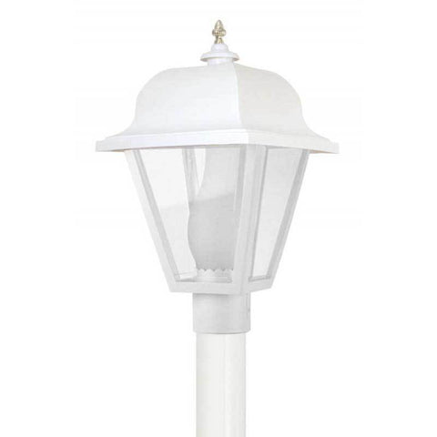 Wave Lighting 411 Saxony Outdoor Post Top w/Glass Chimney