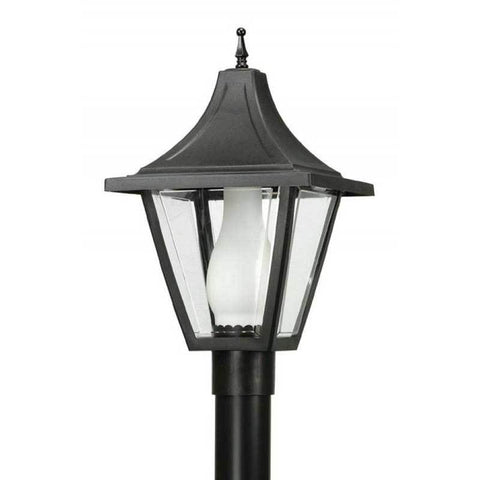 Wave Lighting 612 Vanguard Outdoor Post Top with Glass Chimney