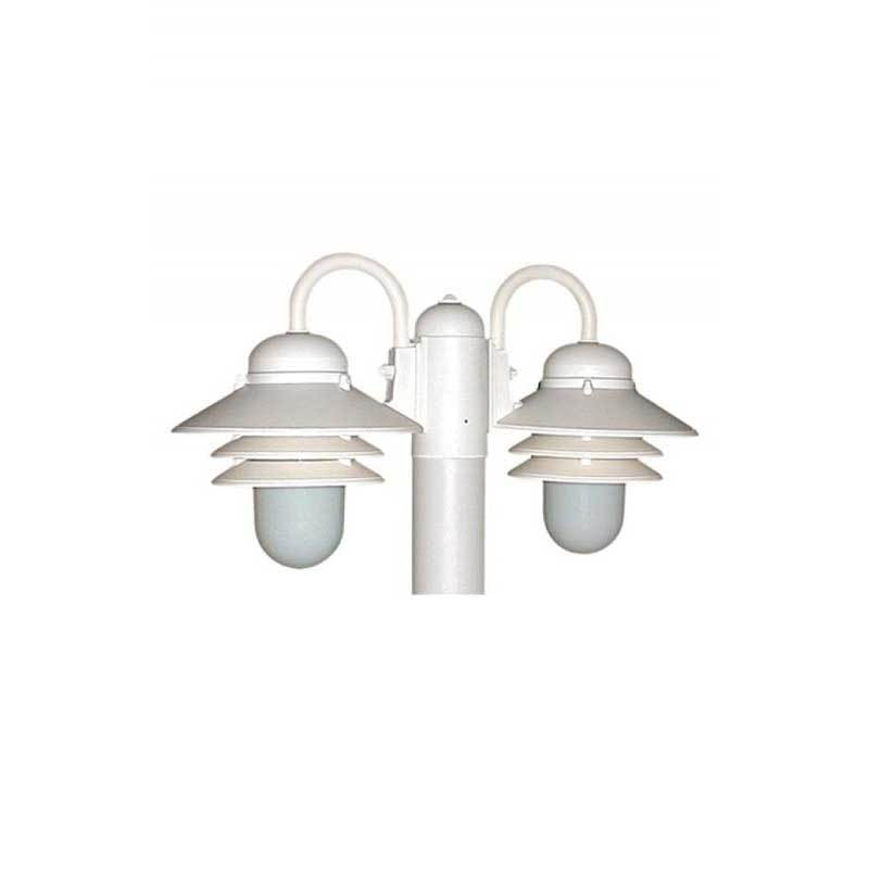 Wave Lighting S75Tx-2 Nautical 2 Light Outdoor Post Top with Photocell