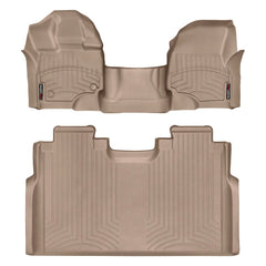 WeatherTech DigitalFit First & Second Row Over the Hump Floor Liners 2015-2017 Ford F-150