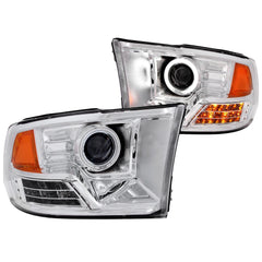 Anzo 111160 - Chrome CCFL Halo Projector LED Headlights