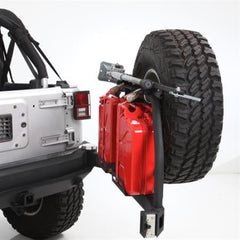 Smittybilt XRC Atlas Rear Bumper with Tire Carrier 07-Pres Wrangler JK