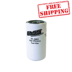 FASS Fuel Systems Titanium Series Replacement Fuel Filter (FF-3003)