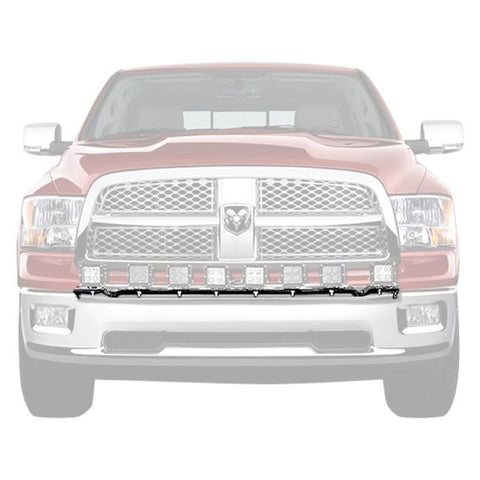 N Fab 09 17 Dodge Ram 1500 Light Bar With Multi Mount For Led Lights