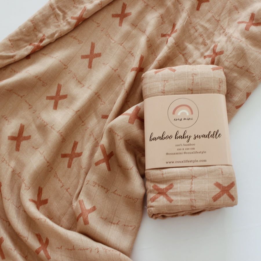 Cross My Heart Muslin Wrap