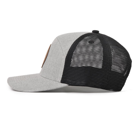 The Grey Mesh Arrow Snapback