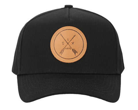 Image of SixHats Arrow 5 Panel Snapback