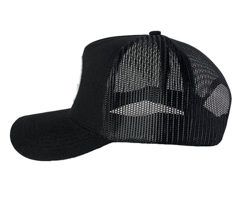 Black Canvas Adventure Snapback