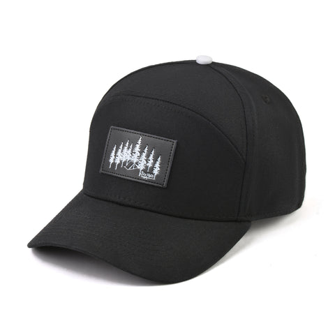 Image of The Black Explorer Snapback