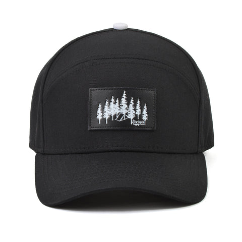 The Black Explorer Snapback Hat