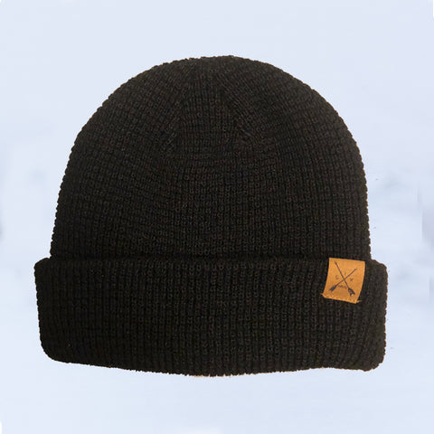 Image of Midnight Waffle Knit Beanie